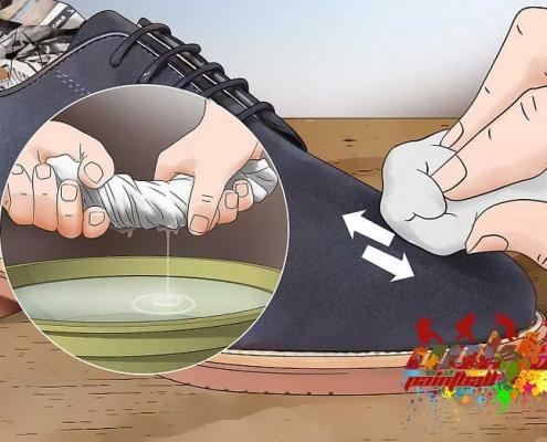 paintball boyası ayakkabıdan çıkar mı?